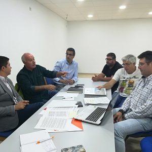 Sergio Romero acompaña a Ciudadanos Chipiona en una nueva reunión con Jarife y CANS
