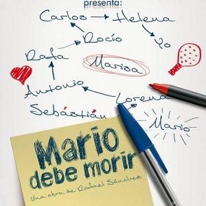 Chusco y Pub Gloria escenarios el sábado del estreno en Chipiona de la obra 'Mario debe morir', del chipionero Rafael Sánchez