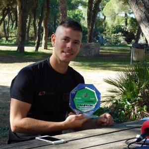 Víctor Rodríguez Cebrián cierra el año muy satisfecho con su proclamación como campeón interprovincial de motocros Sevilla-Cádiz