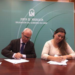 La Junta renueva con el Ayuntamiento de Chipiona el convenio para facilitar que los menores infractores puedan acogerse a medidas judiciales en abierto