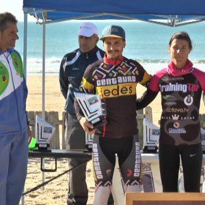 José Daniel Borrego vencedor absoluto en el Duatlón Cros Playas de Chipiona