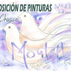 La sala de exposiciones de El Chusco cierra el año con la pintura de Diego Montalbán