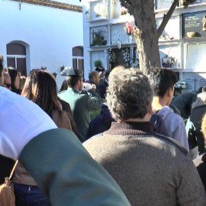 El guardia civil Víctor Jesús Caballero Espinosa enterrado en Chipiona tras el multitudinario funeral que tuvo lugar en Cádiz