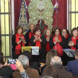 Antonio Peña transmitió el espíritu navideño en un pregón de la Navidad muy mariano y poético