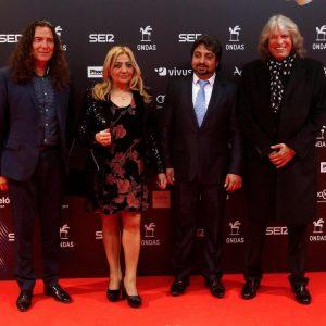 José  Mercé cantó en los premios Ondas recordando el 25 aniversario de la muerte de Camarón