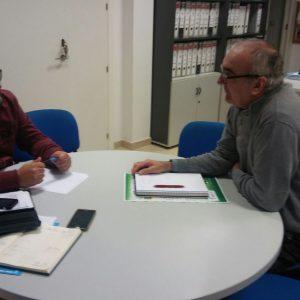 Rafael Pastorino inicia reuniones con los clubes deportivos para conocer sus necesidades e informarles sobre subvenciones