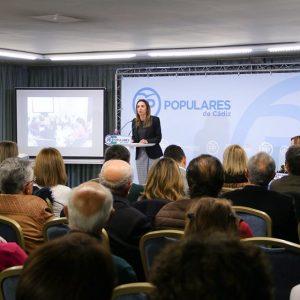 Isabel Jurado elegida presidenta del Partido Popular de Chipiona en el congreso local