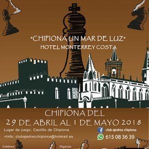 Un Open de ajedrez Neoclásico unirán en Chipiona deporte y turismo en el puente del 1 de mayo