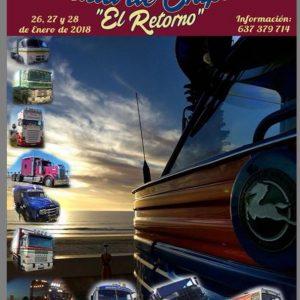 Diego Racero afirma que la Concentración nacional de camiones que arranca hoy en Chipiona se supera en la segunda edición