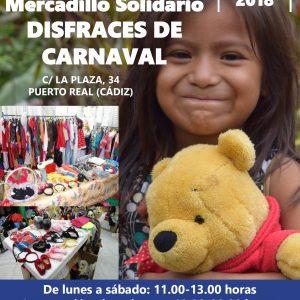 Madre Coraje abre en Puerto Real un Mercadillo de Disfraces para Carnaval hasta el 15 de febrero