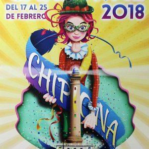 Fiestas hace público su programa de actos oficiales para el Carnaval de Chipiona 2018