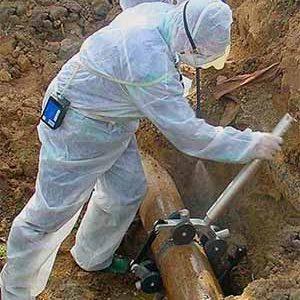 Empresa de desamiantado especializada en el corte y retirada de tuberías de amianto en toda España. Empresa inscrita en el RERA