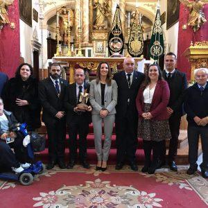 José Pablo Chaves resaltó el trabajo y el compromiso de las hermandades de Chipiona en su pregón de Semana Santa
