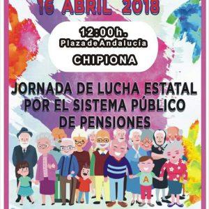 IU  apoya la concentración local de pensionistas y jubilados de hoy en defensa del sistema público de pensiones