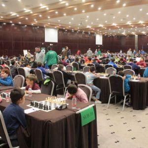 Seis jugadores del club Ajedrez Chipiona participaron el pasado fin de semana en el campeonato de Andalucía Escolar