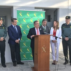 180507 Visita ministro de Interior Guardia Civil