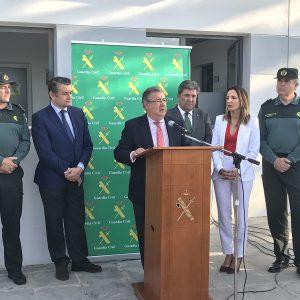 El ministro del Interior anuncia que en 2019 comenzará a construirse el nuevo cuartel de la Guardia Civil de Chipiona