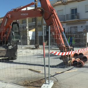 En marcha la segunda fase de la mejora de las infraestructuras hidráulicas en la avenida de Rota