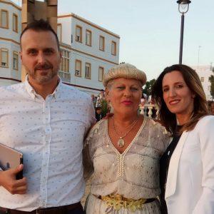 Chipiona dio la bienvenida al verano con la inauguración de las playas y la tradicional izada de banderas