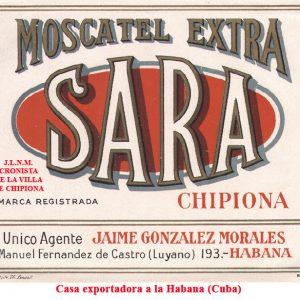 Moscatel Sara