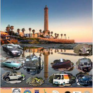 Todo dispuesto para la cuarta concentración de vehículos clásicos e históricos que dinamizará el final de septiembre en Chipiona