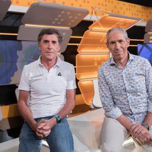 Pedro Delgado y Carlos de Andres