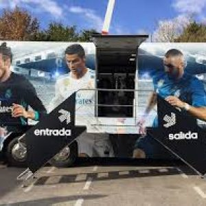 180913 BUS REAL MADRID