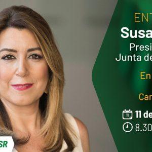 """Canal Sur Radio Entrevista a Susana Díaz, este martes en """"La Hora de Andalucía"""""""