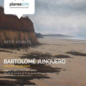 La Agenda Planea trae la muestra Diálogos en soledad de Bartolomé Junquero a sala del Castillo