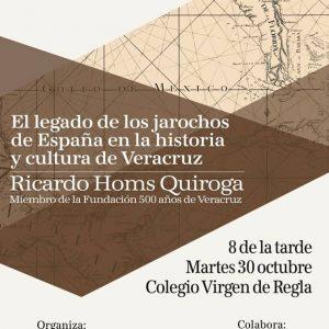 Ricardo Homs Quiroga ofrece el próximo martes una conferencia sobre el legado de los jarochos de España en la historia y la cultura de Veracruz