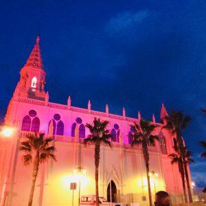Santuario rosa