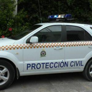 Protección Civil de Chipiona comienza cambiar a color azul las luces de emergencia de sus vehículos como establece la nueva regulación