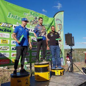 Los chipioneros Alberto Pacheco y Víctor Rodríguez se clasifican como campeón y tercero respectivamente en el interprovincial de Moto Cross