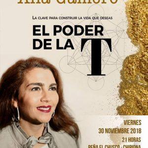 Ana Gamero presenta su segundo libro, El poder de la T el viernes en El Chusco