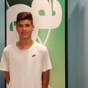 El joven baloncestista David Jiménez vuelve a ser convocado a una concentración de la selección nacional de su categoría