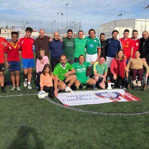 El Atlético de Chipiona premia a Montse Mellado como ejemplo en el mundo del deporte del esfuerzo de las mujeres de la localidad