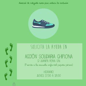 """Acción Solidaria convoca la campaña """"Al cole con zapatos nuevos"""""""