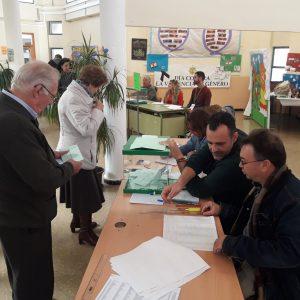 Chipiona reproduce los resultados autonómicos y baja en casi seis puntos la participación