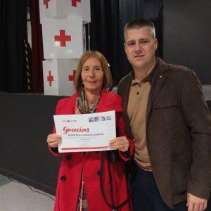 La Asamblea de Cruz Roja en Chipiona realizó ayer un acto de reconocimiento a socios, voluntarios y empresas colaboradoras