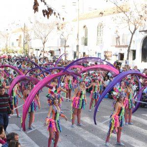 Origen, el resurgir del carnaval, de To a úrtima hora, se alza con el triunfo absoluto en la cabalgata 2019