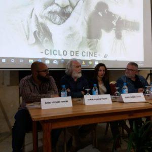 Feliz reencuentro de Gonzalo García Pelayo con Chipiona gracias al ciclo que la localidad dedica a su cine
