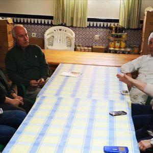 Cs Chipiona se reúne con la AAVV de la Alcancía