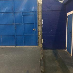 IU de Chipiona solicita que se adecente la puerta principal del estadio de fútbol «Gutiérrez Amérigo»