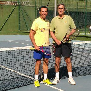 El chipionero Manuel Massip se proclama campeón provincial de tenis 2019 de mayores de 55 años