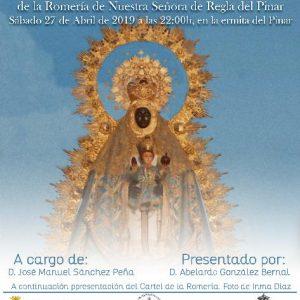 José Manuel Sánchez Peña pregonará este sábado una Romería del Pinar 2019