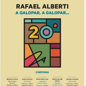 Rafael Alberti protagonista del mes de mayo cultural chipionero