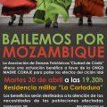 Madre Coraje Cádiz organiza 'Bailemos por Mozambique' en apoyo a poblaciones afectadas por el ciclón Idai