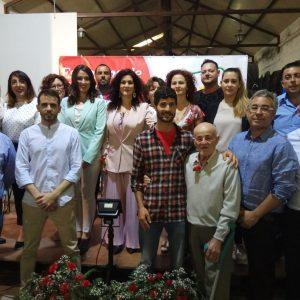 Izquierda Unida presenta su candidatura para las municipales encabezada por Isabel María Fernández