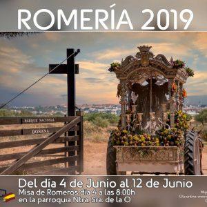 Una fotografía de Conchi Cerpa González anuncia la Romería del Rocío 2019 en Chipiona