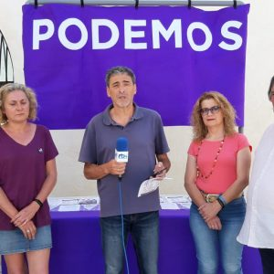 Podemos presenta un programa electoral para las próximas elecciones  municipales basado en seis medidas